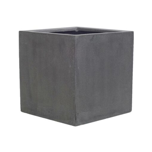 Fiberstone Outdoor Patio Planter Cement grey